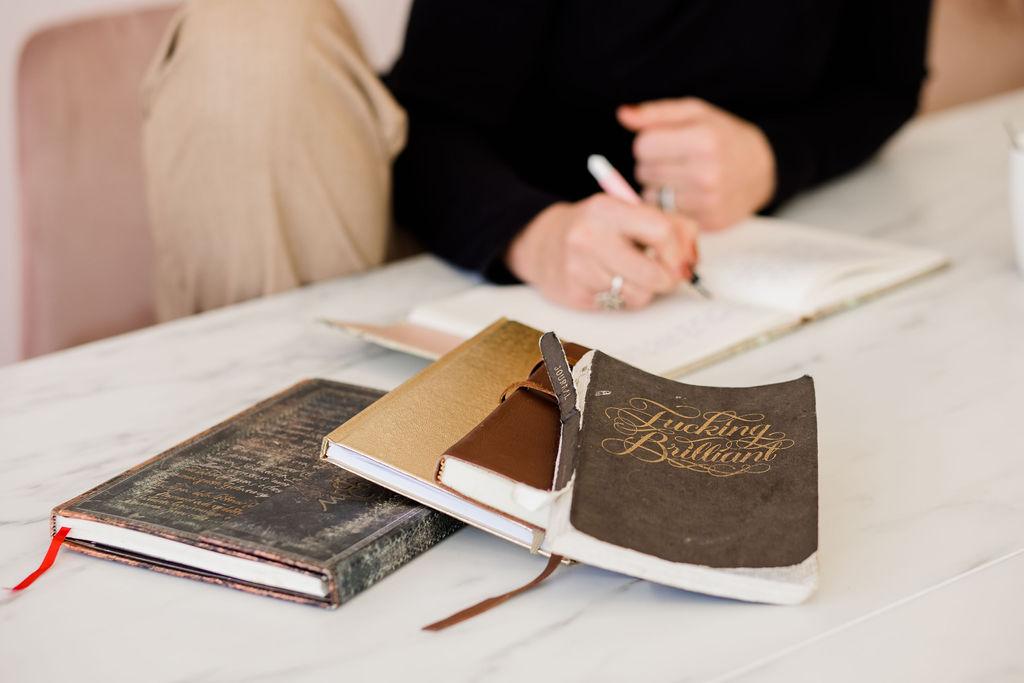 notitieboeken schrijfcoach marianne 1 op 1 boek